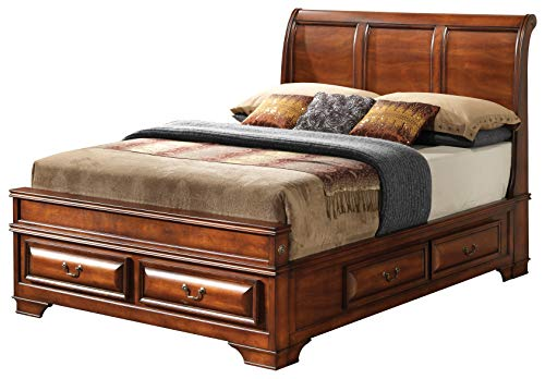 Glory Furniture LaVita G8850A-FB Full Storage, Oak Bed Room Furniture 54