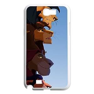 WEUKK Lion King Samsung Galaxy Note2 N7100 case, customized phone case for Samsung Galaxy Note2 N7100 Lion King, customized Lion King cover case