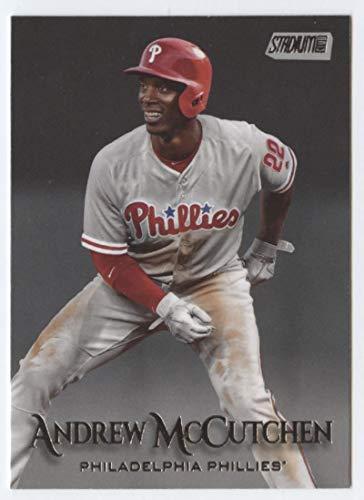 (2019 Topps Stadium Club #102 Andrew McCutchen Philadelphia Phillies Baseball Card)