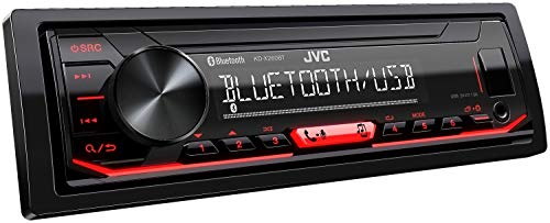 JVC KD-X260BT Digital Media Receiver Featuring Bluetooth/USB / Pandora/iHeartRadio / Spotify / 13-Band EQ
