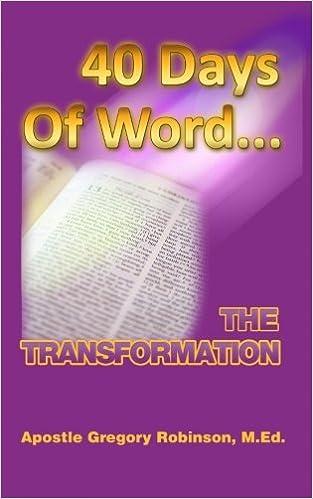 40 Days of Tranformation