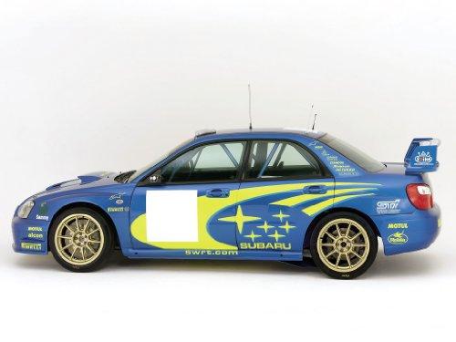 Subaru Impreza Wrc Prototype 2003 Car Art Poster Print on 10 mil Archival Satin