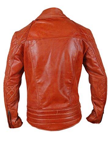 Giacca Leatherly Motociclista Diamond Classic Uomo Motorcycle Pelle nU7Uw0x