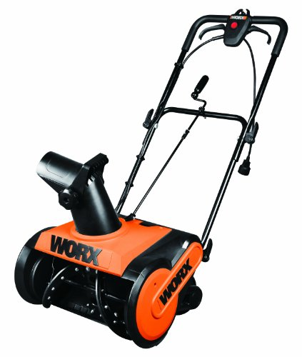 WORX WG650 18-Inch 13 Amp Electric Snow Thrower by Worx