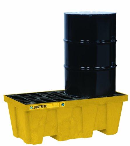 (Justrite 28622 EcoPolyBlend 66 Gallon Sump Capacity, 49