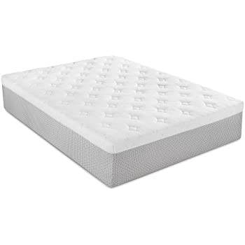 Serta 14 Inch Gel Memory Foam Mattress, Twin
