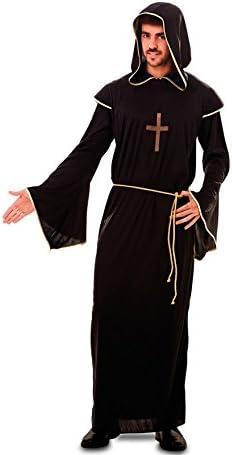 Fyasa 706413-t04 disfraz de monje, Negro, Grande: Amazon.es ...