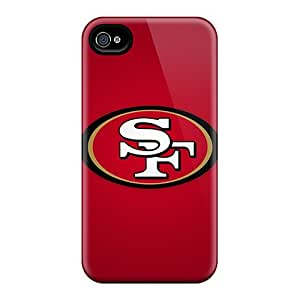 High Quality Shock Absorbing Case For Iphone 4/4s-san Francisco 49ers 4