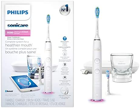Philips Sonicare DiamondClean Smart 9350 Rechargeable Electric Toothbrush with Bluetooth