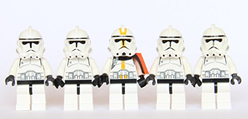 Star Wars Clone Troopers (LEGO® Star Wars - 5 Clone Trooper)