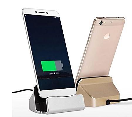 Theoutlettablet® Dock Cargador/Sincronización para Smartphone Xiaomi Mi4s / Mi5 / Mi5plus / Mi6 con conexión USB Type-C Wall Charger