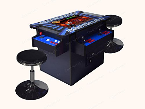 Arcade Cabinet w Trackballs. Professionally Made Commercial Quality LED JAMMA Plug and Play Ready ()