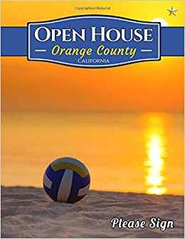 Orange County Open House: A Guest Book for Orange County