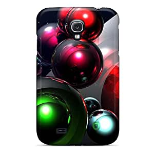 Fashion FrudEPS1842NWiQv Case Cover For Galaxy S4(3d Space Balls)