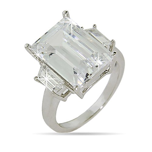 Celebrity Inspired CZ Engagement Ring