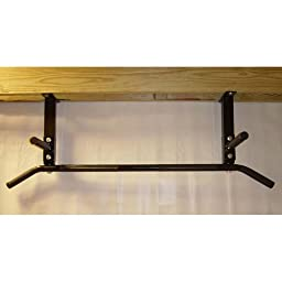 Ceiling Mounted Pull Up Bar with Neutral Grips
