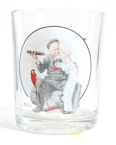 The Saturday Evening Post Norman Rockwell Glassware Collection - Setting One's Sight 1922 - Collectible (The Saturday Evening Post Norman Rockwell Glassware Collection)
