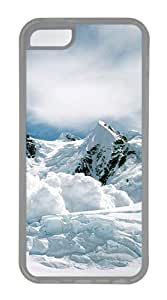 iPhone 5C Case,Avalanche TPU Custom iPhone 5C Case Cover Transparent