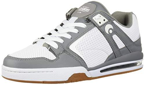 Osiris Men's PXL Skate Shoe Grey/White/Gum 10.5 M US