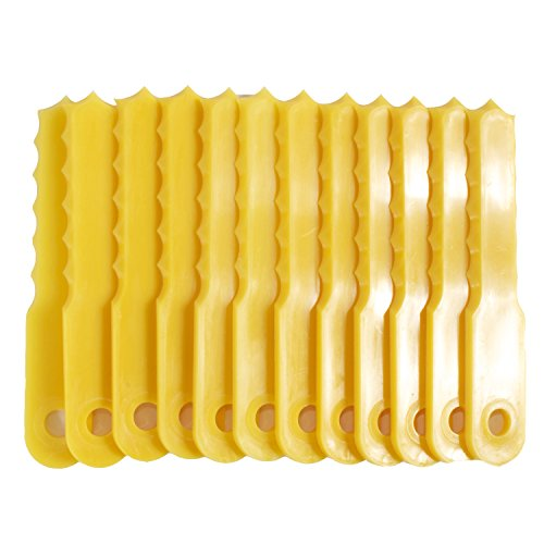 Weed Warrior REPLACEMENT BLADES for Push-N-Load 3 Blade Head - 70289A, yellow