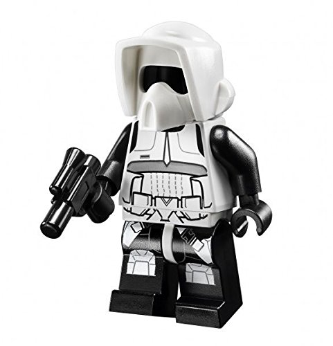 - New Lego Endor Scout Trooper Minifig Figure Minifigure 75023 10236 Star Wars Toy