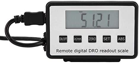 ZYL-YL Digital Readout,0-300mm Accurate Digital Linear Scale LCD Readout Kit for Milling Machines Lathes