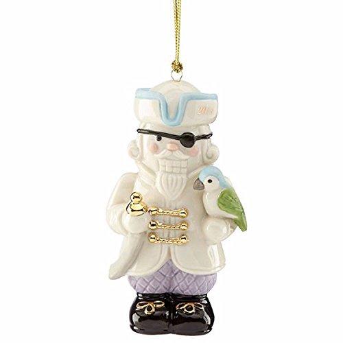 - Lenox Annual Pirate Nutcracker Ornament Figurine Parrot