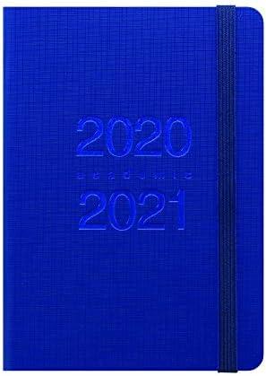 Letts Notizen A6 Didaktierkalender für 12 Monate August 2020 August 2021 1 Blu