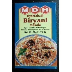 MDH Hyderabadi Biryani Masala - 1.75oz (Best Hyderabadi Mutton Biryani Recipe)