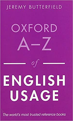 Oxford a z of english usage jeremy butterfield 9780199652457 oxford a z of english usage 2nd edition fandeluxe Images