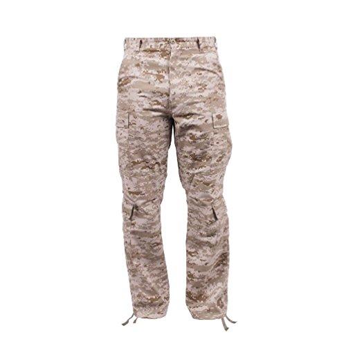 Melonie clothing Vintage Cargo Paratrooper BDU Pants Military Fatigue Trouser Vintage Cargo (Vintage Khaki Fatigue Cap)