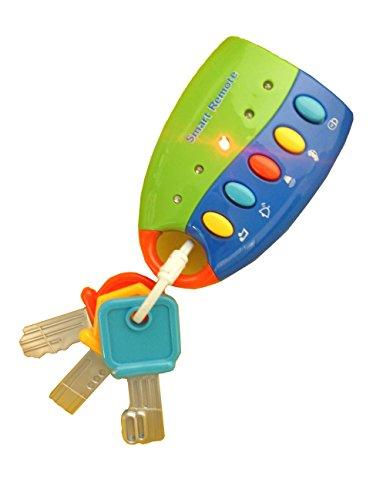 Flash Music Smart Remote Car Key Baby Toy