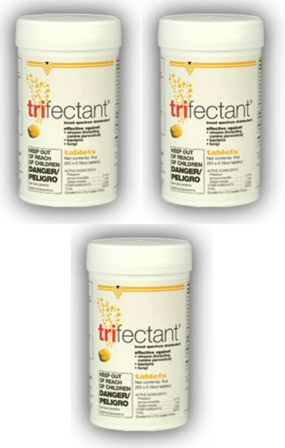 Tomlyn Trifectant Disinfectant - Tomlyn Trifectant Tablets 150ct (3 x 50ct)