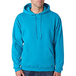 Jerzees 8 oz., 50/50 NuBlend® Fleece Pullover Hood (996)- CALIFORNIA BLUE,2XL