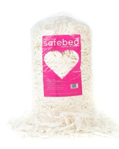 Safebed Paper Wool Petlife Small Animal Bedding for Rabbit, 2 Kg by Safebed Paper Wool