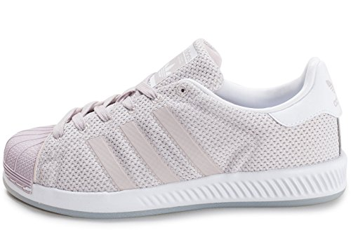 adidas Superstar Bounce W, Sneakers Basses Femme Rose (Ice Pur/ice Pur/ftwwht)