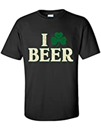 Clover Beer Sarcastic Men's ST Patty Irish Funny ST Patrick's Day T Shirt