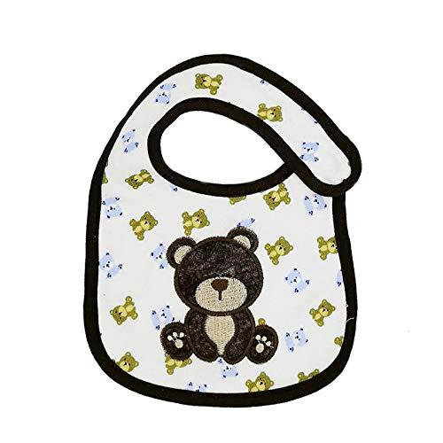 Macxy - 1pcs Baberos para bebés Bandana 100% algodón Babadores eructar la Saliva de Dibujos Animados Toalla de los Accesorios de Las Muchachas de la Ropa ...