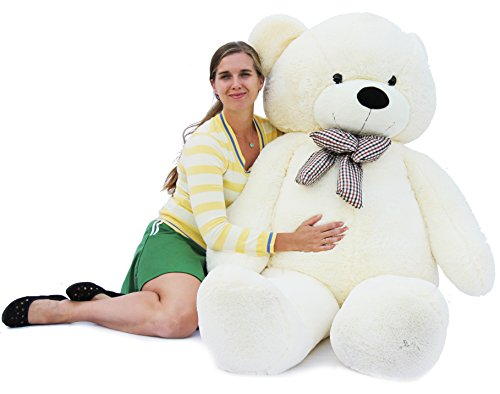 Joyfay Giant Teddy Bear 78''(6.5 Feet) White by Joyfay (Image #1)
