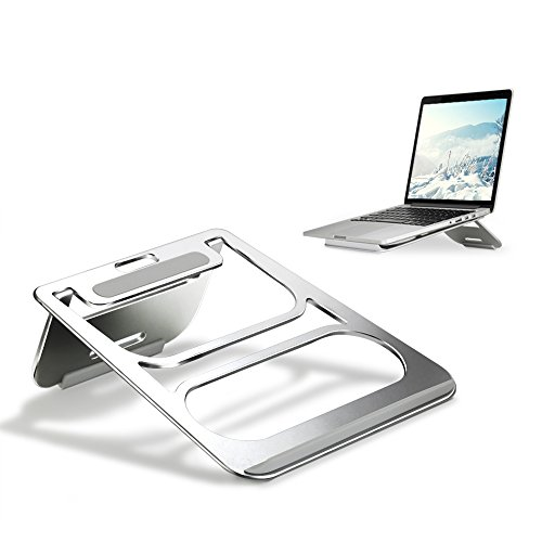 Laptop Stand - Folding Laptop Stand Notebook Macbook Aluminum Portable Universal Light Weight Laptop Stand with Steady Ergonomic Minimalist design Laptop Stand For 7