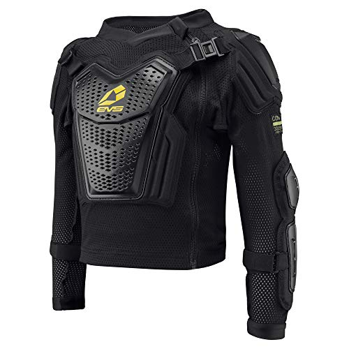 EVS Sports Boy's Youth Comp Suit (Black, - Motorcycle Jersey Ballistic