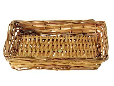 Rectangular Willow Tray - Open Weave 5-8 items (Speciality Gift Baskets)