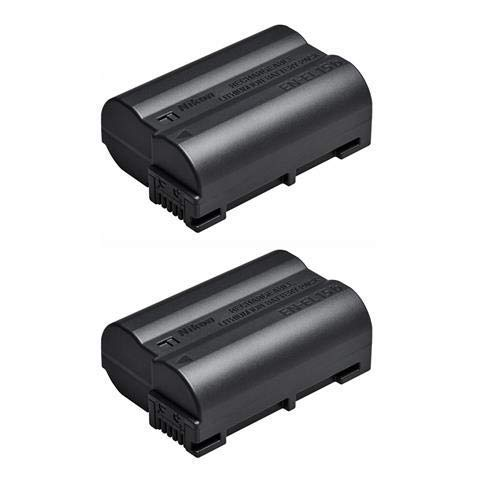 Nikon 2 Pack EN-EL15b Rechargeable Lithium-Ion Battery for Z7 and Z6 Mirrorless Cameras