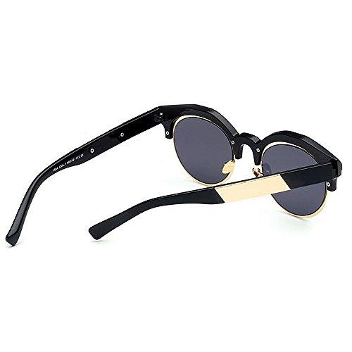 Que al Semi para conducen Color de Lente viajan sin Sol la de UV Libre Que de Mujeres Montura Aire Gafas Negro Protección Color Negro con vnqwZOTO