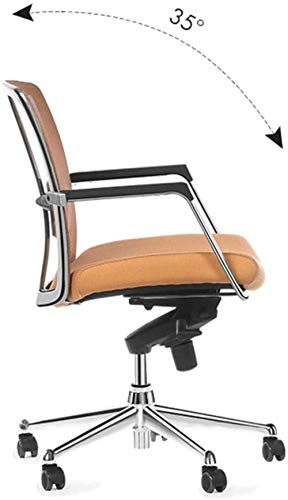 Barstolar THBEIBEI kontorsstol svängbar stol spelstol datorstol uppgift skrivbord stol metallram ergonomisk design hållbar bärkapacitet 300 kg orange