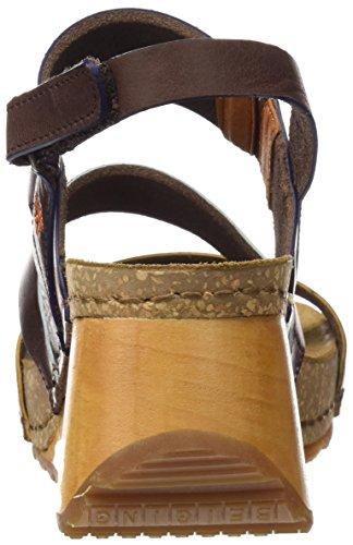 Kunst Damer 1320 Mojave Båret Peeptoe Sandaler Brun (brune) 1z7OzmzI