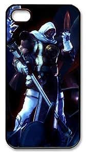 LZHCASE Personalized Protective Case for iphone 4/4s - Soul Calibur SoulCalibur Sword Games