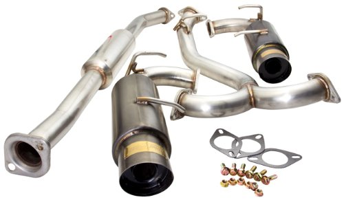 (Limited Edition! Hi-Power N1 Dual Catback Exhaust System with 4