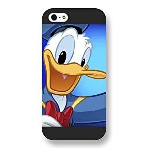 Customized Black Frosted Disney Donald Duck For Case Iphone 6Plus 5.5inch Cover