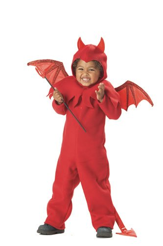 Devil Costume Boys Toddler (Lil' Spitfire Boy's Costume, Large, One)